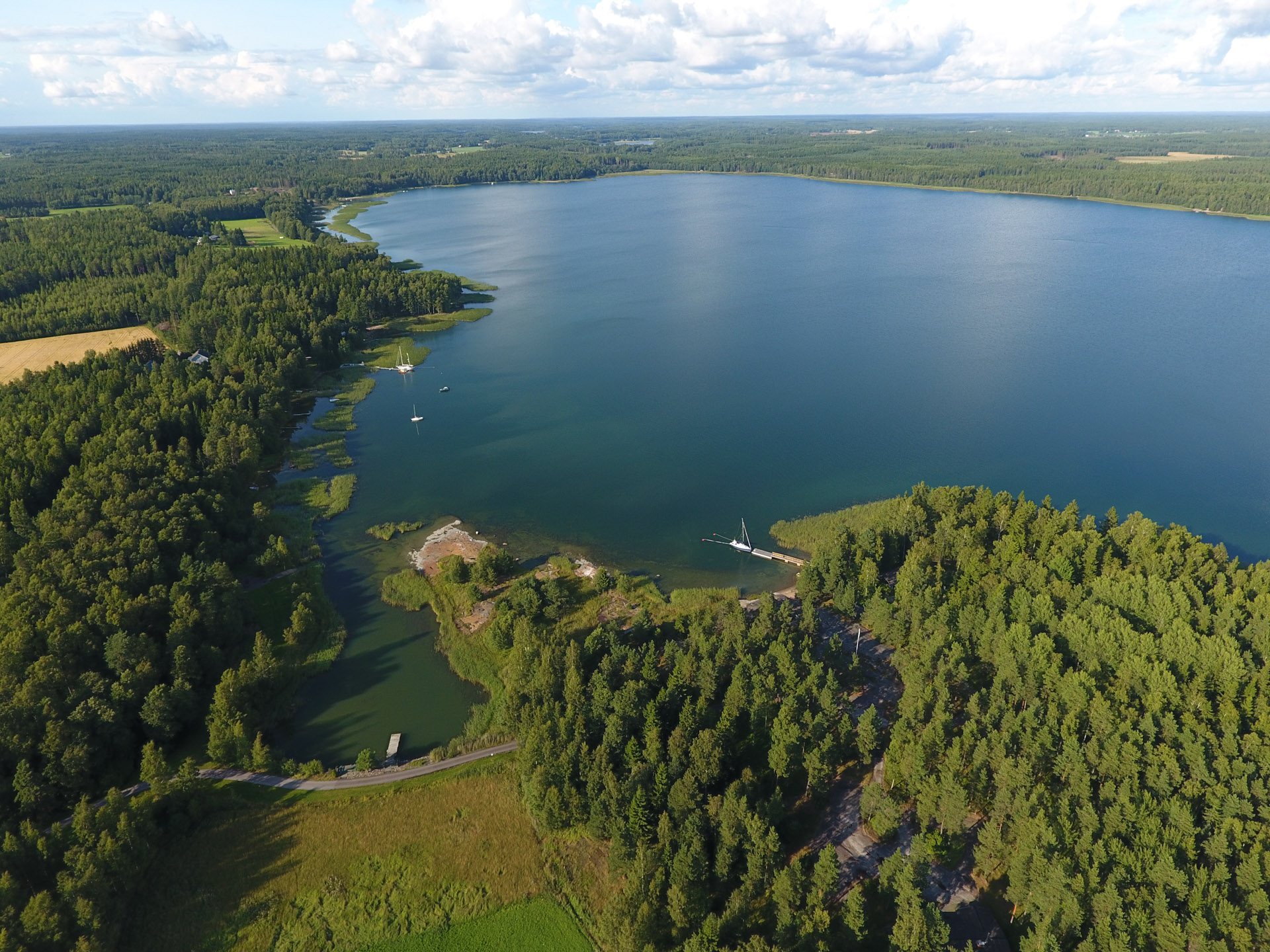 Ilmakuva. From the air.